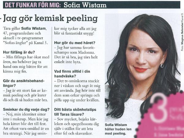 Sofia Wistam Ger Sina Bästa Skönhetstips Skönhetssnack Andreas