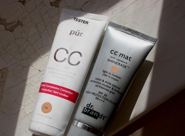 CC-creams från pürminerals och dr.brandt