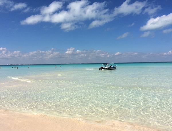 Isla Mujeres boat