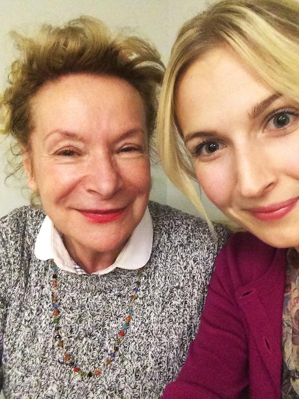 Selfie med Madames Solange