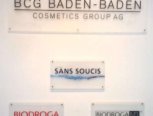 Biodroga och Sans Soucis i baden baden
