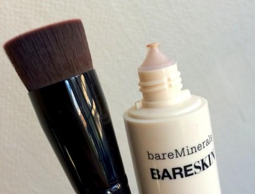 bareMinerals borste och foundation