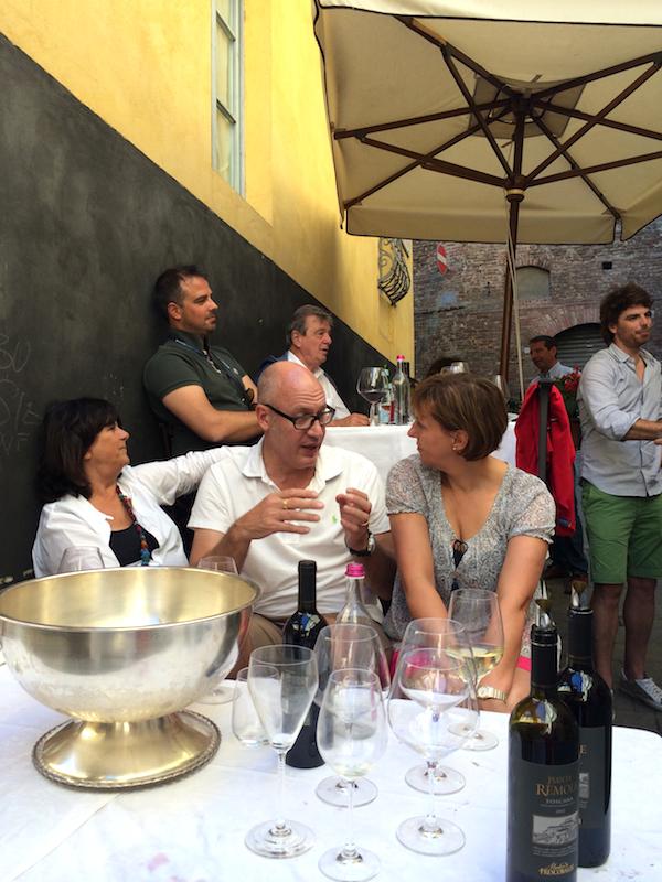 Lunch med Familjen Corradini