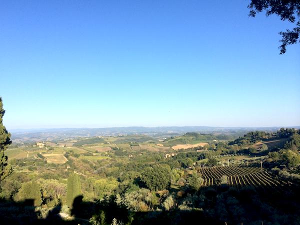 Vy över Siena