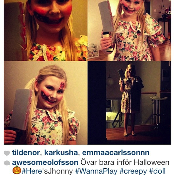 Awesomeolofsson as Creepy Doll