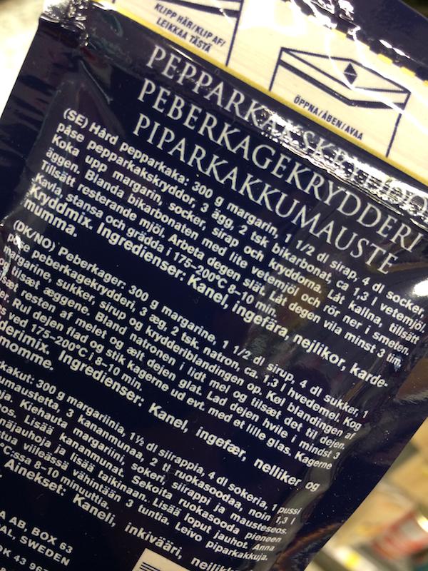 pepparkakskrydda skonhetssnack.se