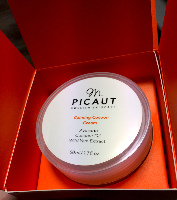 M Picaut Calming Cocoon Cream Box