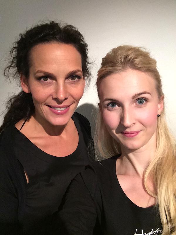 Maybritt Krewald och Andrea Olofsson