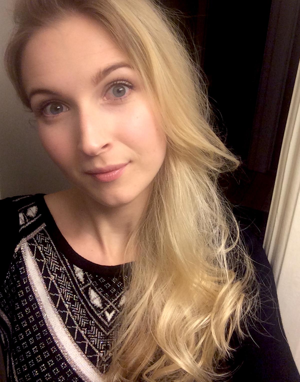 Andrea Olofsson Glitter dress | skonhetssnack.se