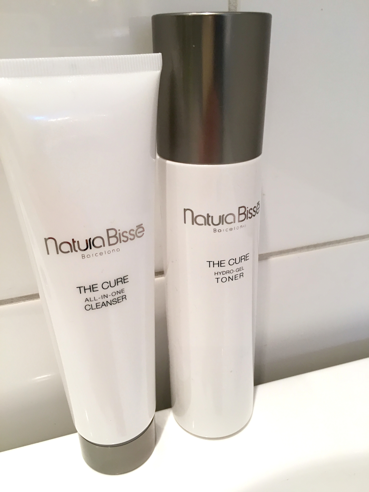 Natura Bisse the cure cleanser duo|skonhetssnack.se