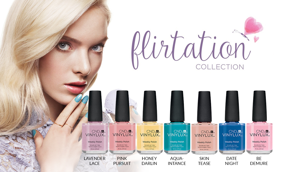 CND Vinylux Flirtation Collection