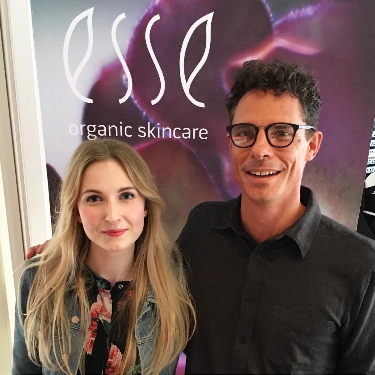 Esse Probiotic Skincare Andrea Olofsson and Trevor Steyn |skonhetssnack.se