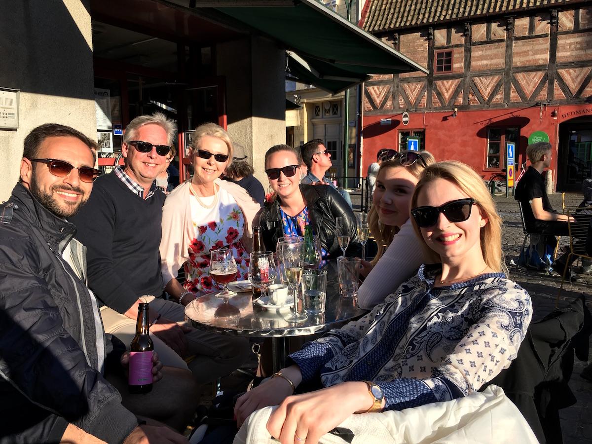 Familjen Olofsson i Lund