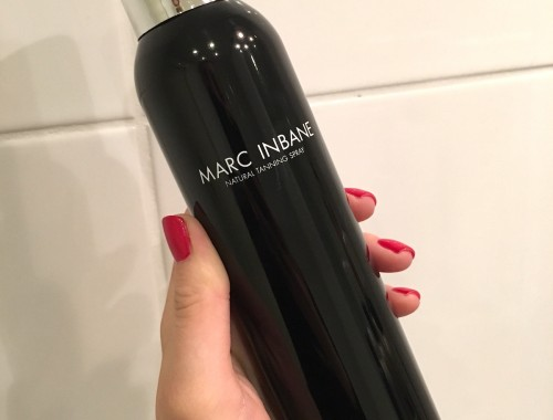 Marc Inbane Spray Tan | skonhetssnack.se