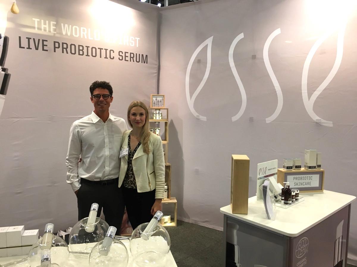 Trevor and Andrea, ESSE Probiotic skincare, hudochkosmetik|skonhetssnack.se