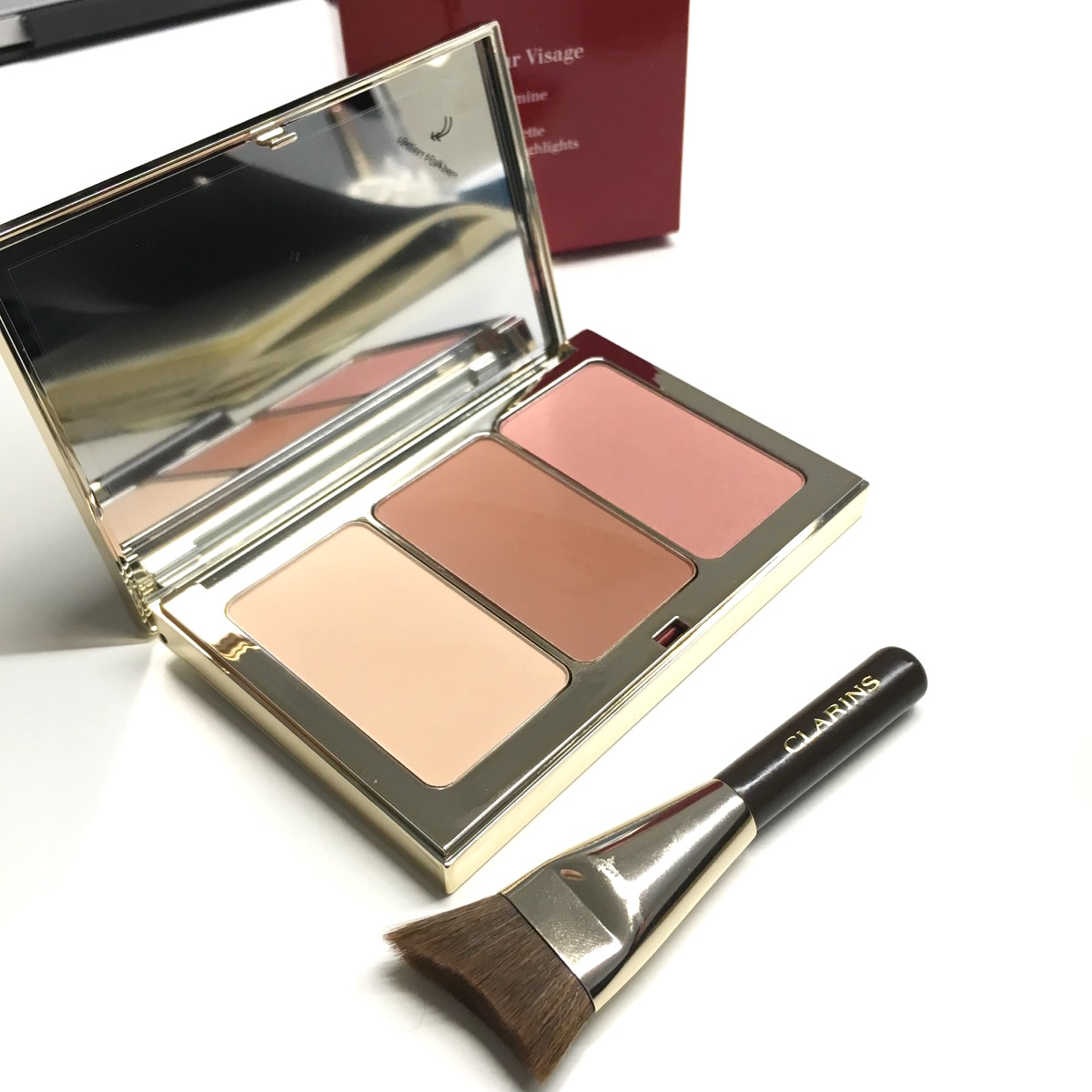 Clarins spring 2017 Contouring palette