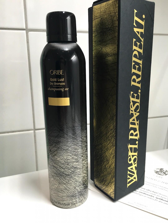 Oribe Gold Lust Dry Shampoo Christmas Gift | skonhetssnack.se