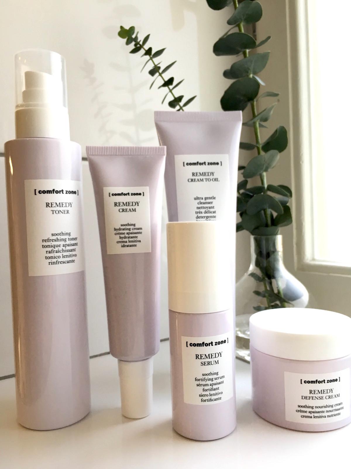 Comfort Zone Remedy för känslig hud på skönhetssnack.se IMG_5926