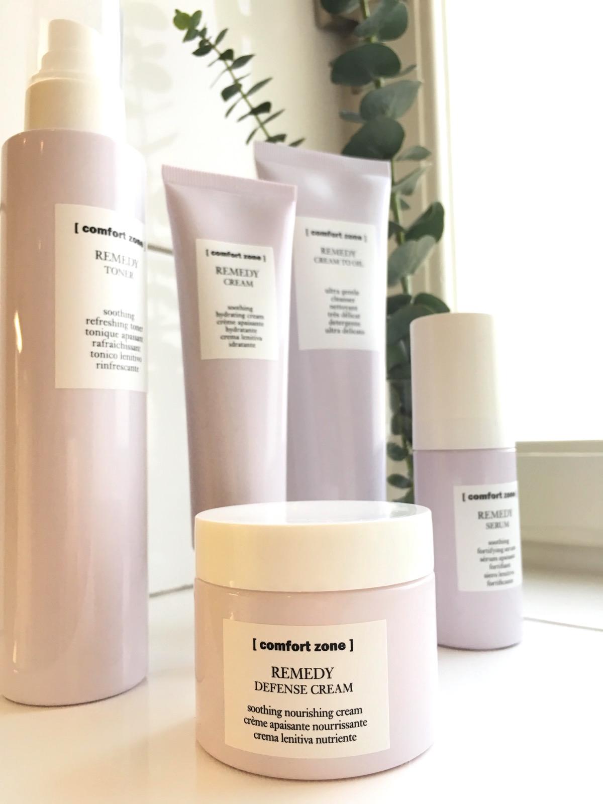 Comfort Zone Remedy för känslig hud på skönhetssnack.se IMG_5927