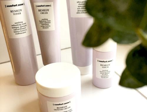 Comfort Zone Remedy för känslig hud på skönhetssnack.se IMG_5934