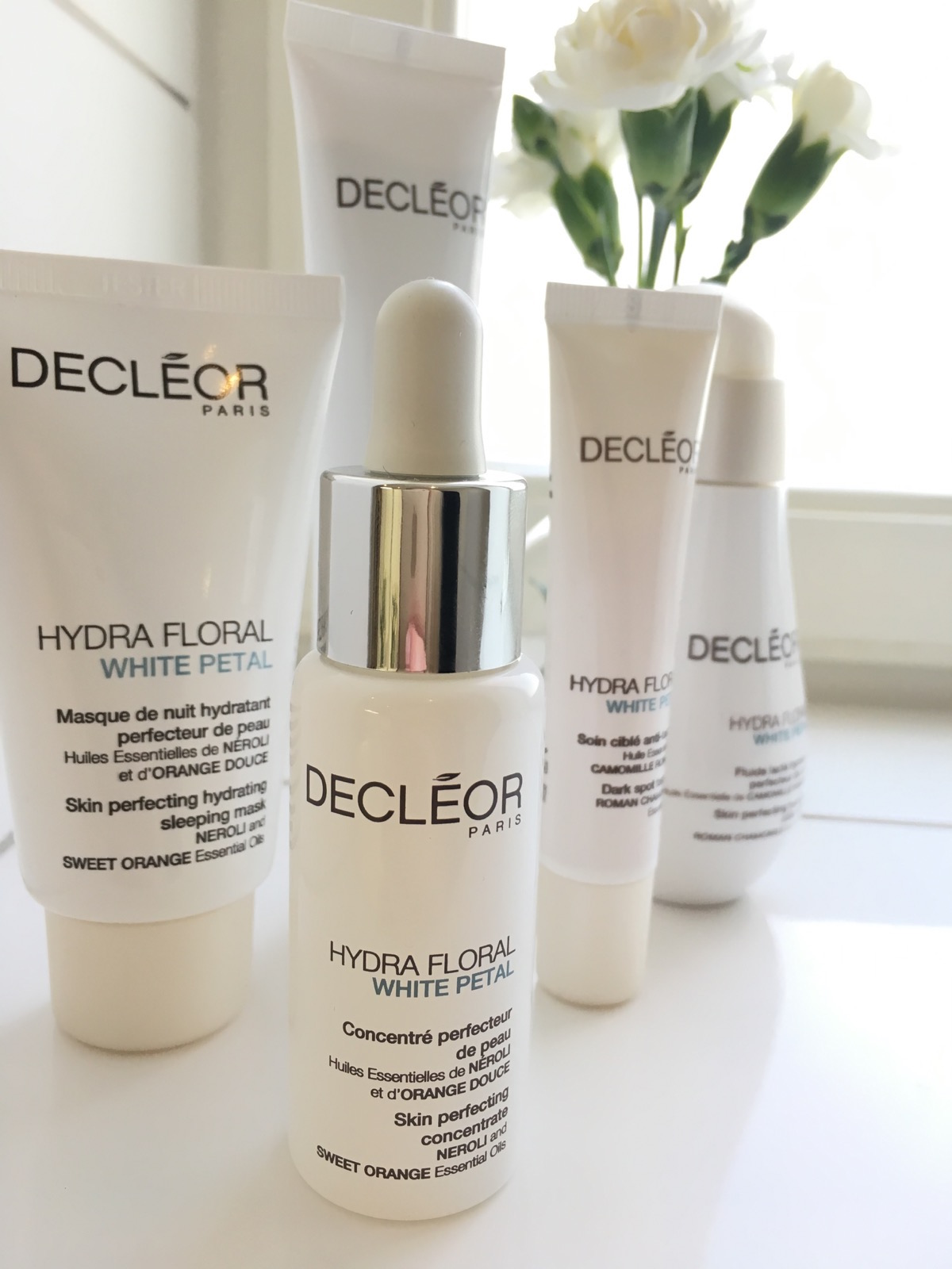 Decléors serie White Petal på skönhetssnack.se IMG_5753
