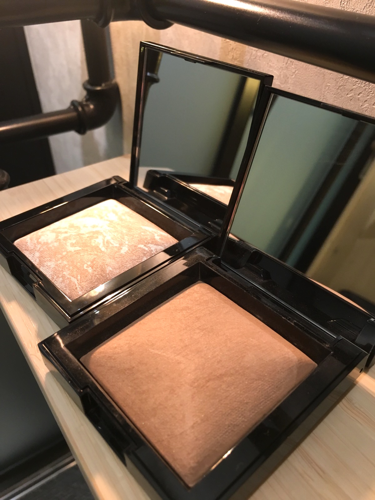 Bronzing powder & highlighter, bareminerals skönhetssnack.se