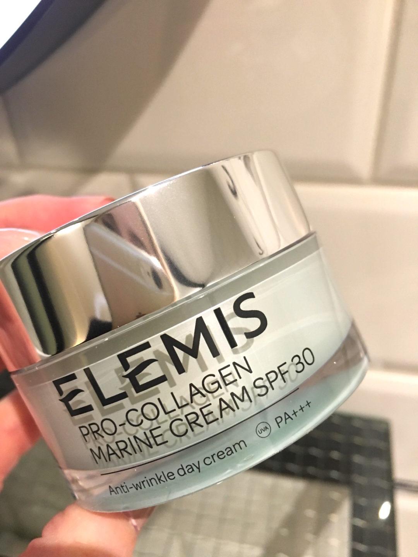 Elemis Pro Collagen Marine Cream SPF 30 burk på skönhetssnack.se