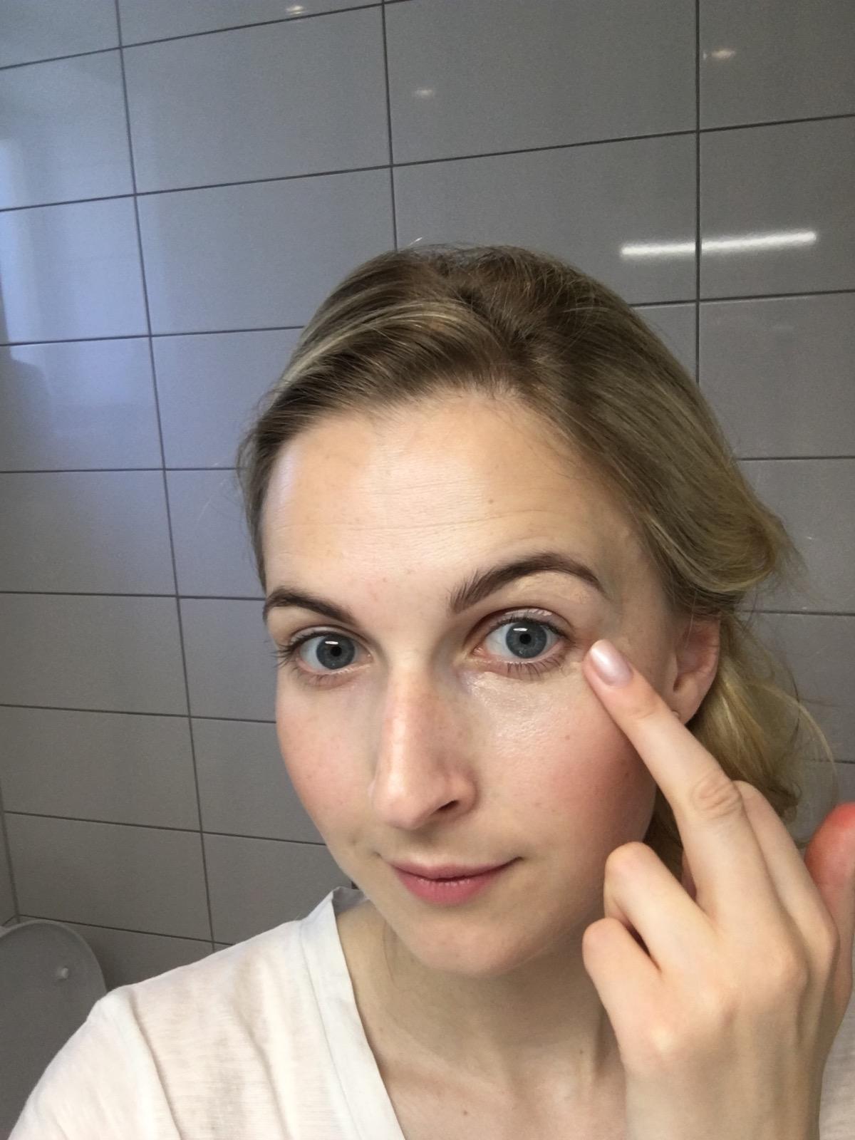 Sans soucis dd cream for eyes roll on, skönhetssnack.se IMG_7050