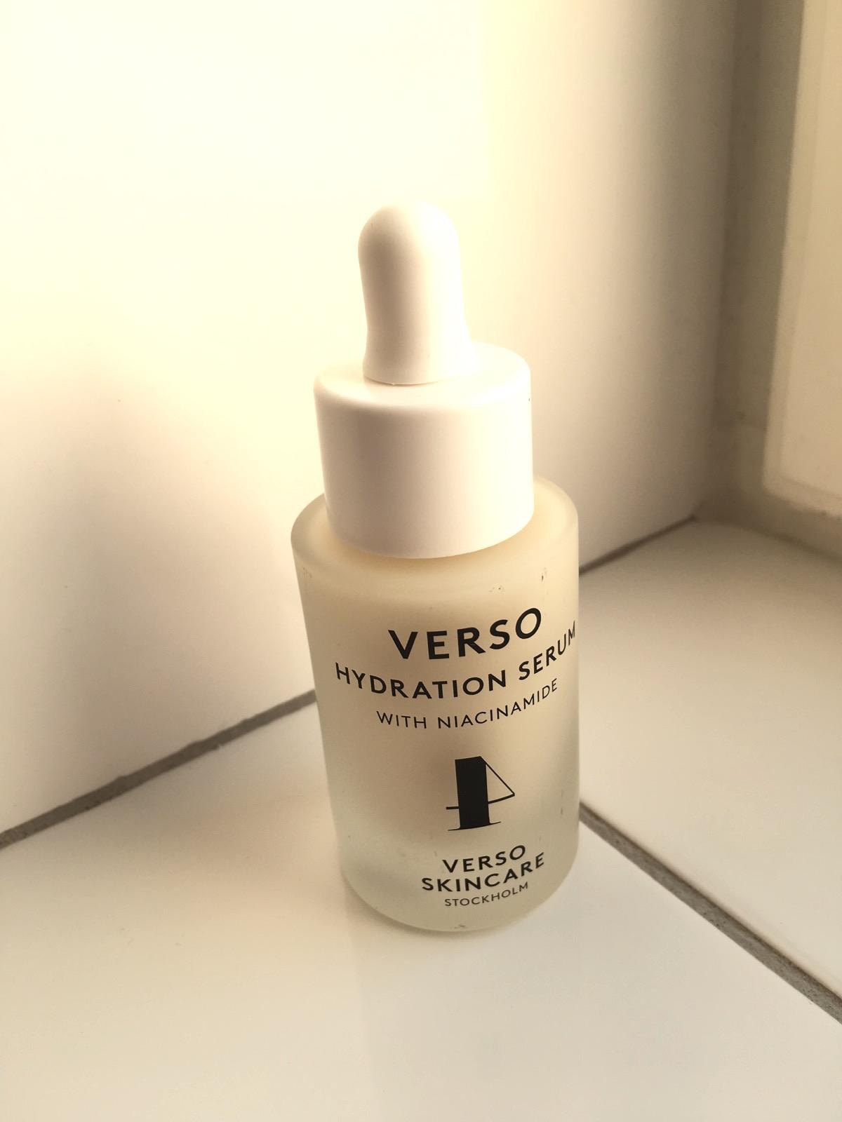 Verso skincare, Hydration Serum, skönhetssnack.se IMG_8460