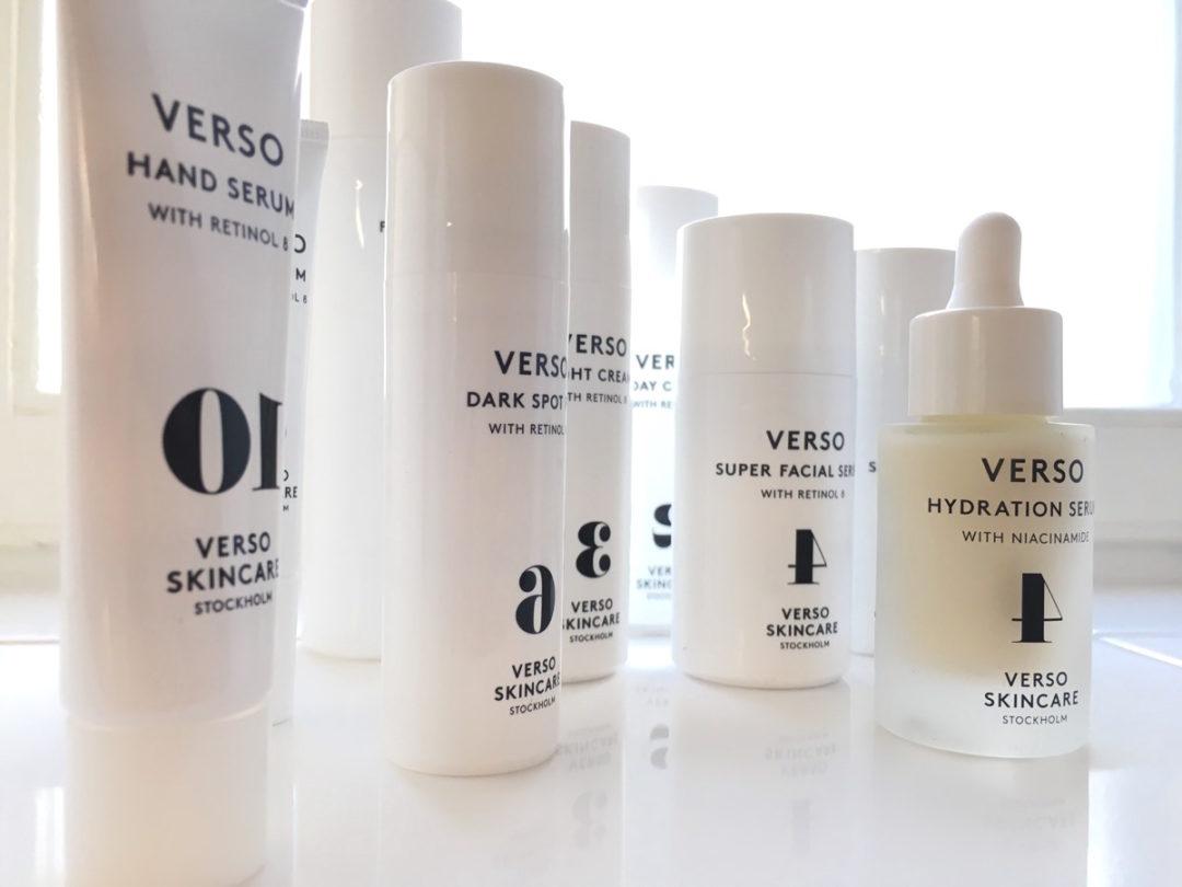 Verso skincare, gruppbild skönhetssnack.se IMG_8492