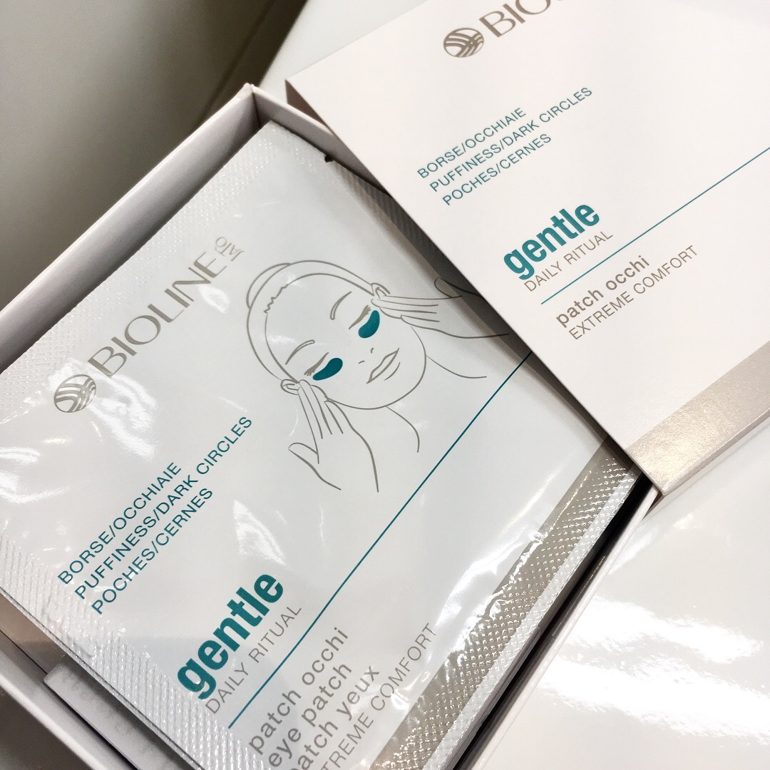 ansiktsmask, Bioline Gentle Daily Ritual Eye Patch, skönhetssnack.se IMG_8955