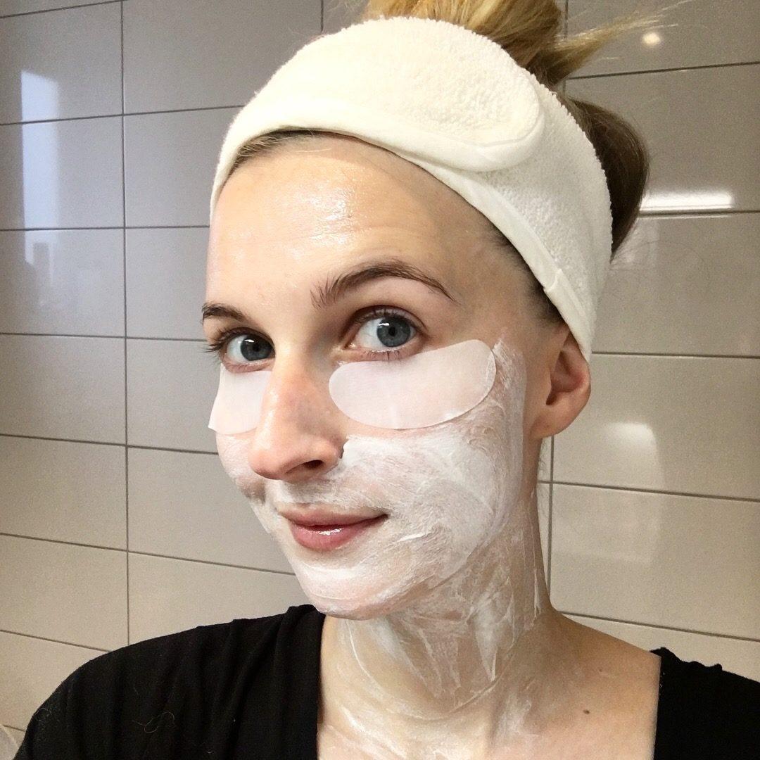 Söndagsmask med bioline, skönhetssnack.se
