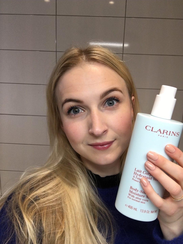 Clarins Body Smoothing Moisture Milk 400 ml, skonhetssnack.se IMG_1345