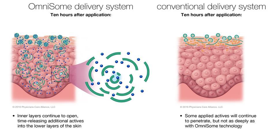 Omnisome delivery system pca skin, skönhetssnack.se