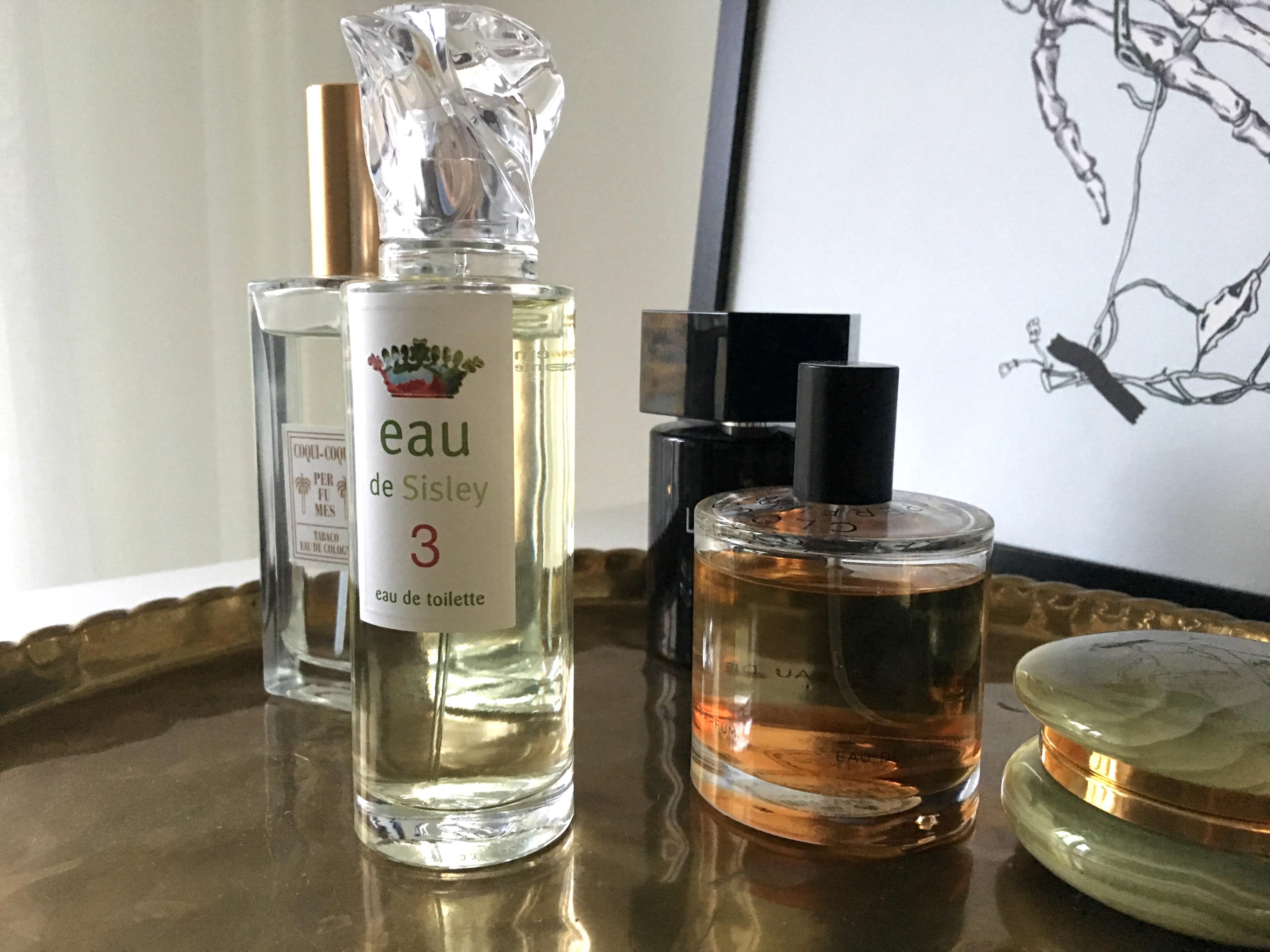 Ny parfym på min byrå Skönhetssnack | Andreas hudvårds