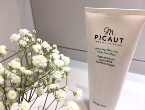 M Picaut Amazing Effortless Body Peel Mask skonhetssnack.se IMG_5548