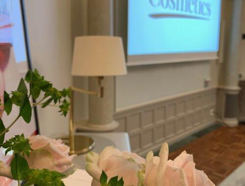 Pressmöte i Stockholm med Scandinavian Cosmetics