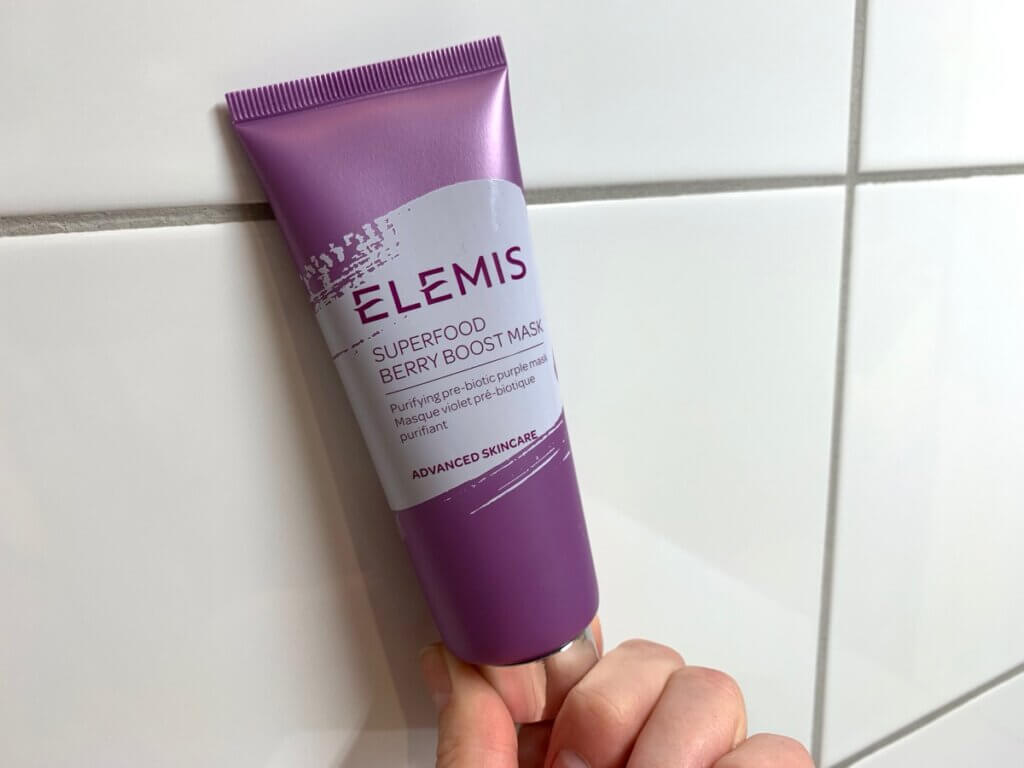 Elemis Superfood Berry Boost Mask skonhetssnack.se IMG_4718