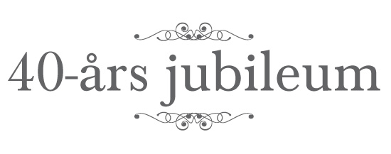 40 års jubileum Hudoteket firar 40 år!   Skönhetssnack | Andreas hudvårds  och  40 års jubileum